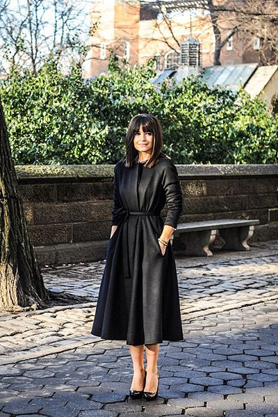 Miro Duma #black coat #2dayslook #blackjacket