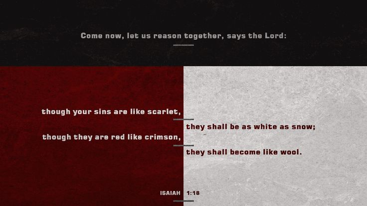 Bible Art Isaiah 1-4 Though your sins are scarlet they shall be white as snow