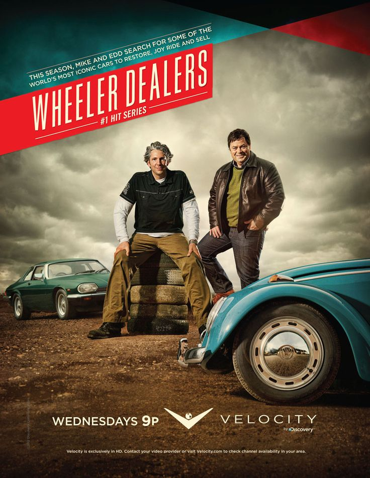 Wheeler Dealers on the V