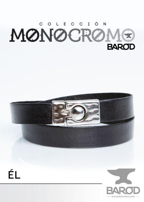 """Modelo """"EL"""" de la colección Monocromo de Barod Accesorios Masculinos"""