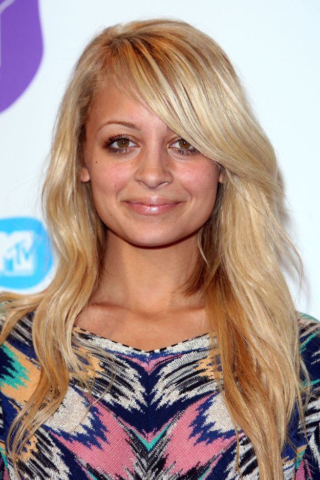 After that, long extensions were added. | The Hair Evolution Of Nicole Richie