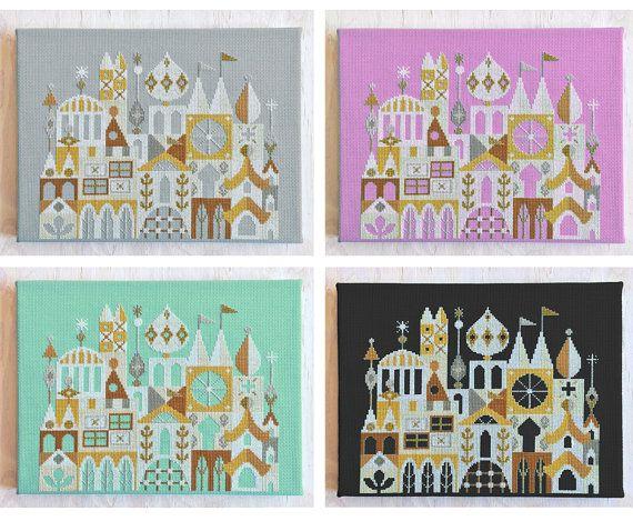 Arcadia Cross Stitch Cities Places Pinterest Beautiful Cross Stitch And Modern Cross