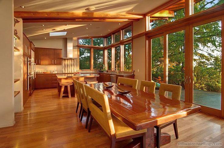 Modular Home Dining Room in Portland, OR - Stillwater Dwellings