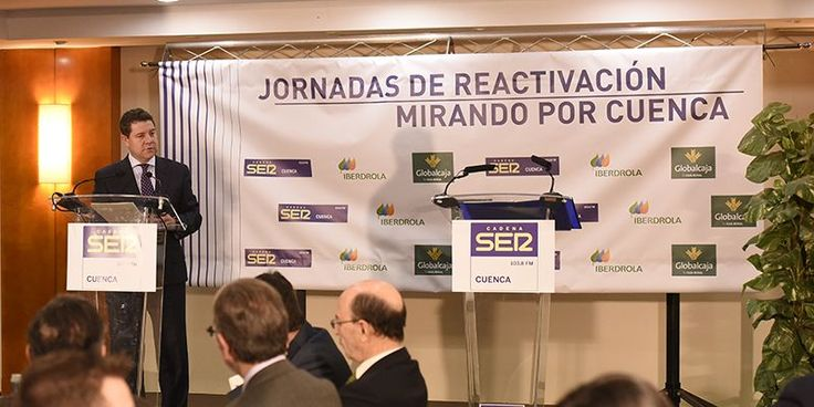 Page anuncia en Cuenca la construcción de un hotel de 174 plazas y un centro de convenciones en un solar de la antigua escuela de Magisterio
