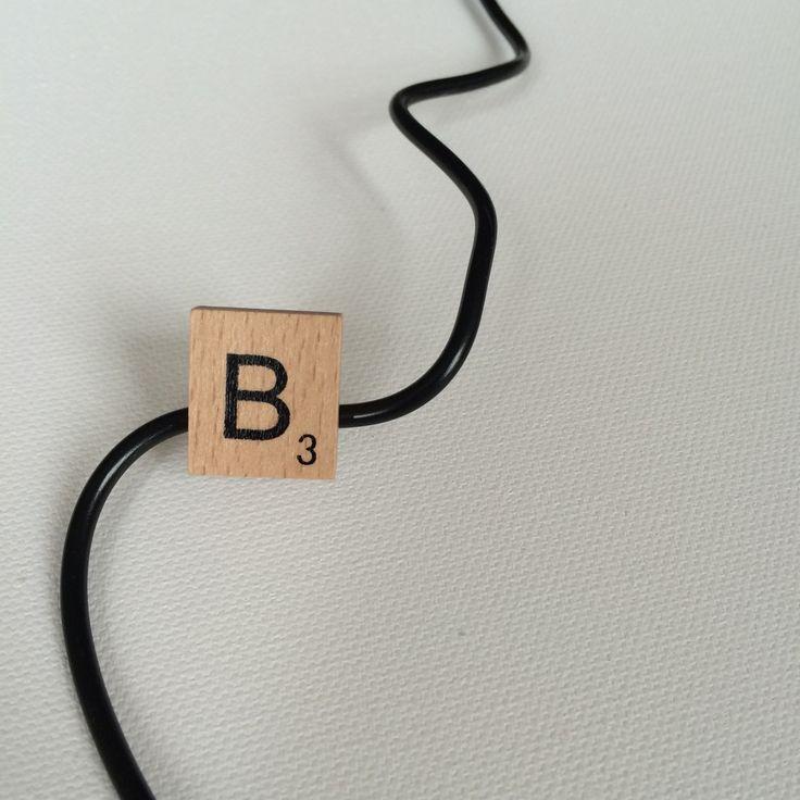 - La bague Scrabble MADE by ÉmyLie -