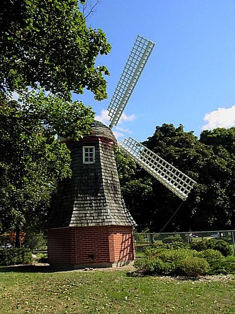 Dutch windmill at Riverside Park Guelph