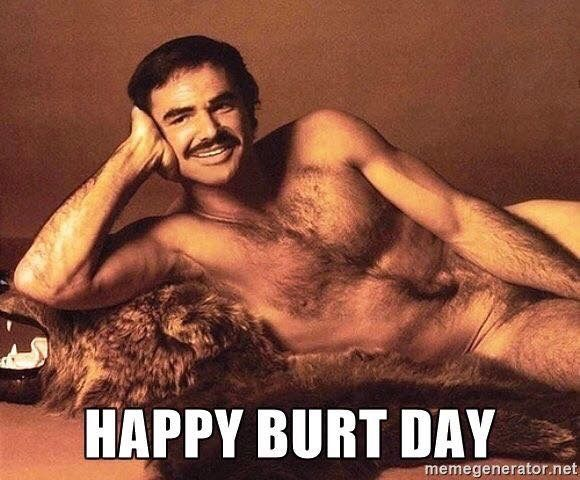 553 best Birthday Cards images – Burt Reynolds Birthday Card
