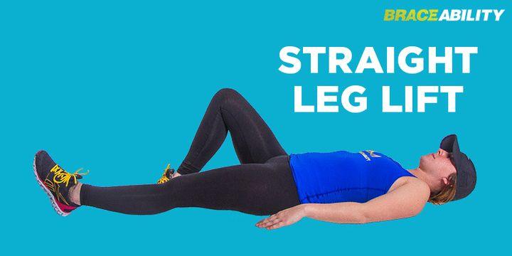 Leg lift chondromalacia patella exercise