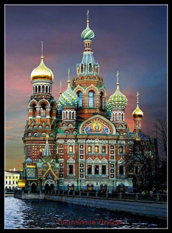 Petersburg In St DIY Chart Counted Cross Stitch Patterns Needlework