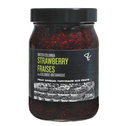 PC Black Label British Columbia Strawberry Fruit Spread