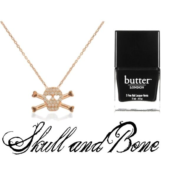 """""""skull and bone"""" by susie1971 on Polyvore"""