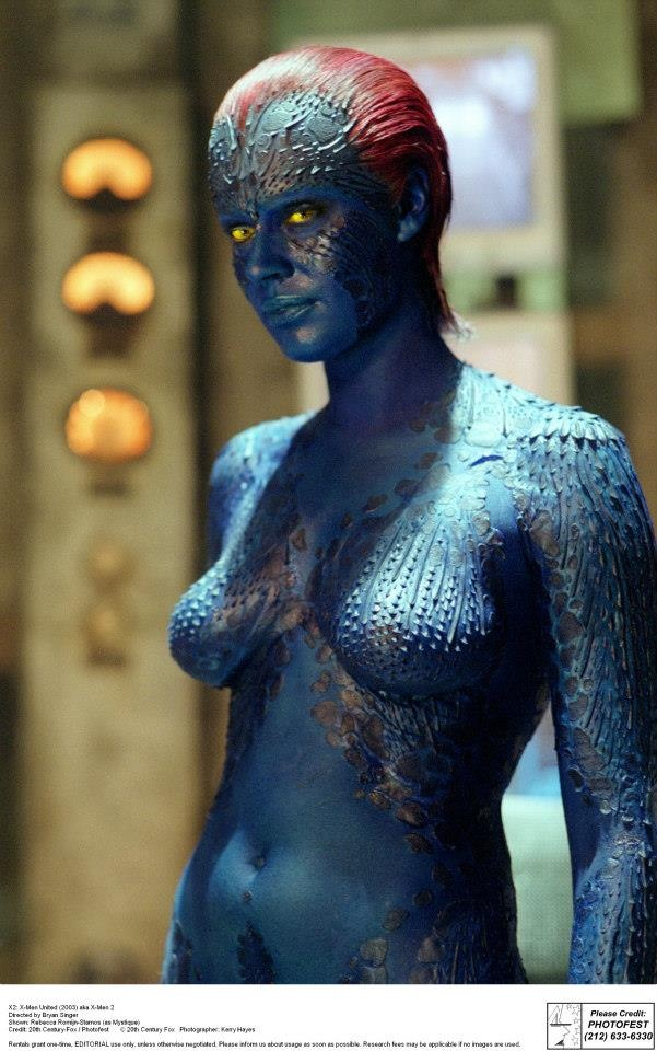 Are rebecca romijn stamos as mystique pics really