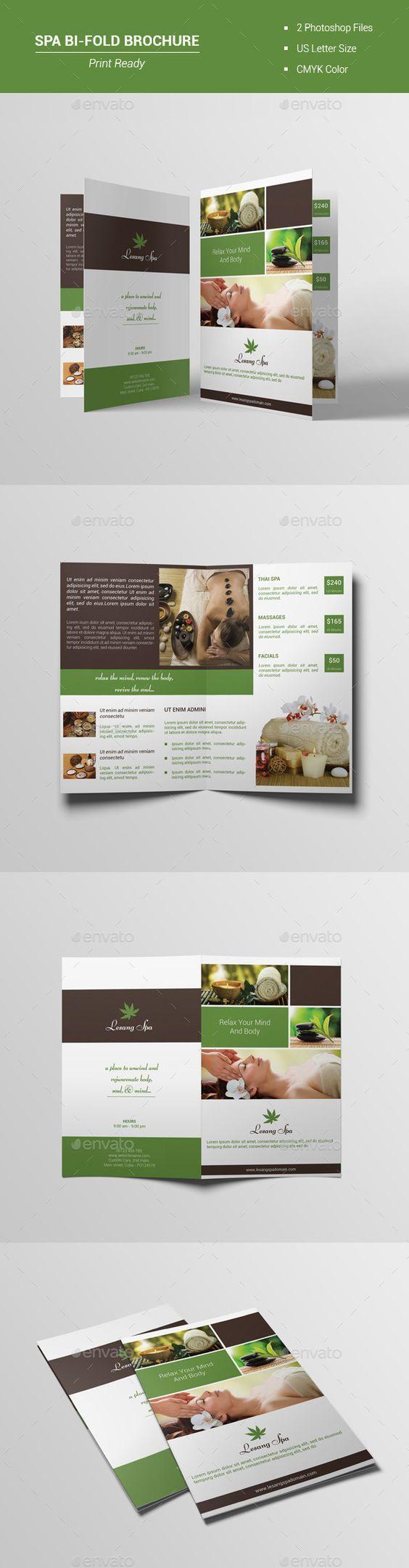 Information is key in spa brochure designs