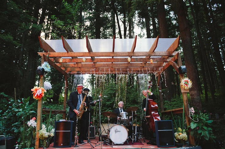 Eccentric, Whimsical  Eclectic Homespun Wedding: Erik  Caitlin