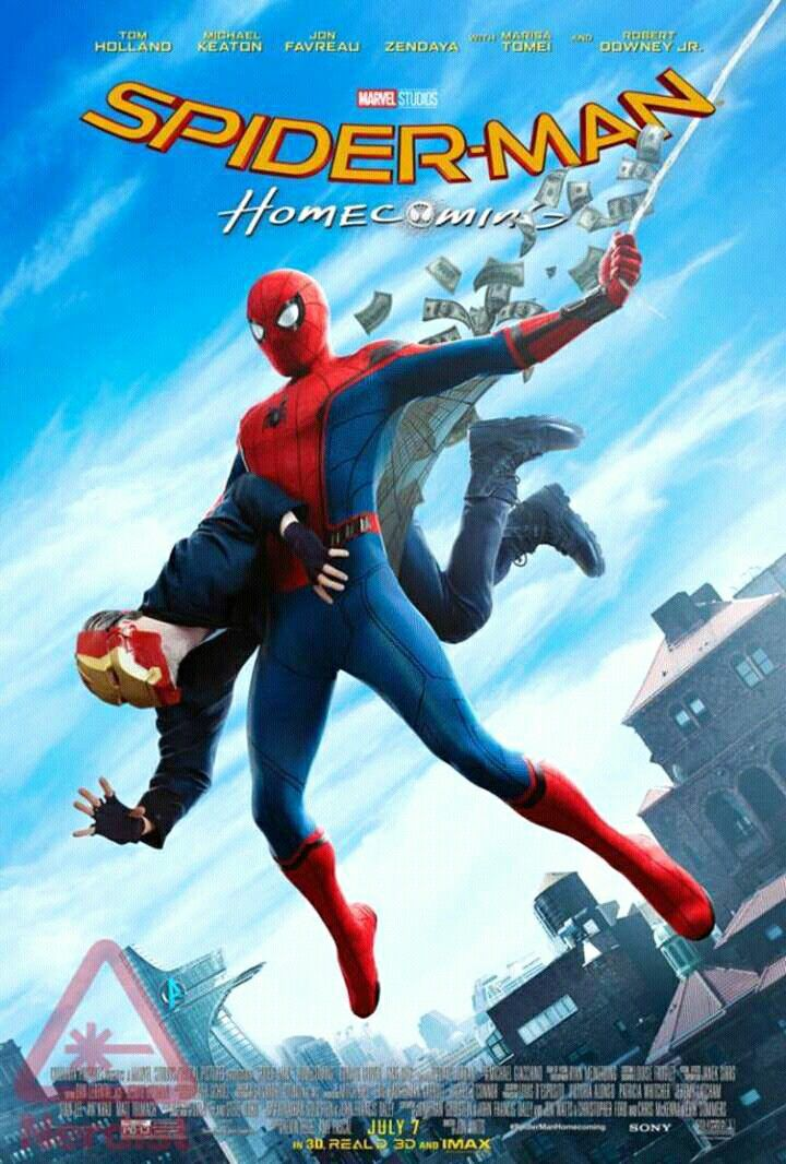 New awesome Spiderman homecoming poster