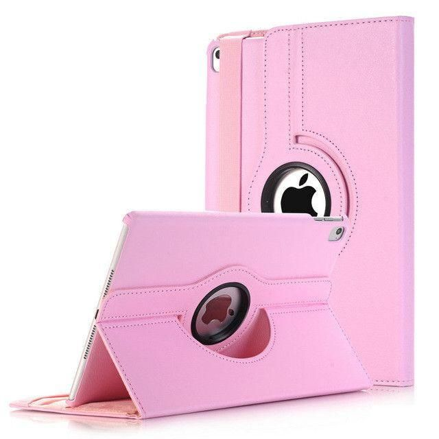 Cover For Apple iPad Pro 9.7 inch Case PU Leather Flip Smart Stand 360 Rotating Brand Case Cover w/Screen Protector Film+Stylus