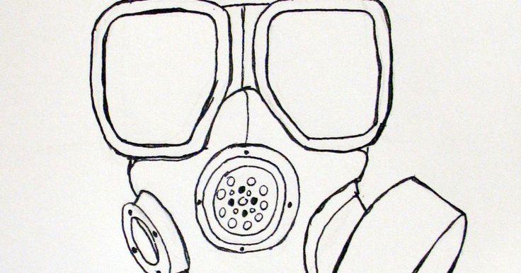Cómo dibujar una máscara de gas. Las máscaras de gas han fascinado a muchos durante unos cuantos años. Han capturado la imaginación de una generación entera de jóvenes y ahora pueden encontrarse en cualquier parte en la Internet. Si bien las máscaras modernas han sido presentadas en la Primera Guerra Mundial, las máscaras han existido por mucho tiempo. La m40 es uno de los ...
