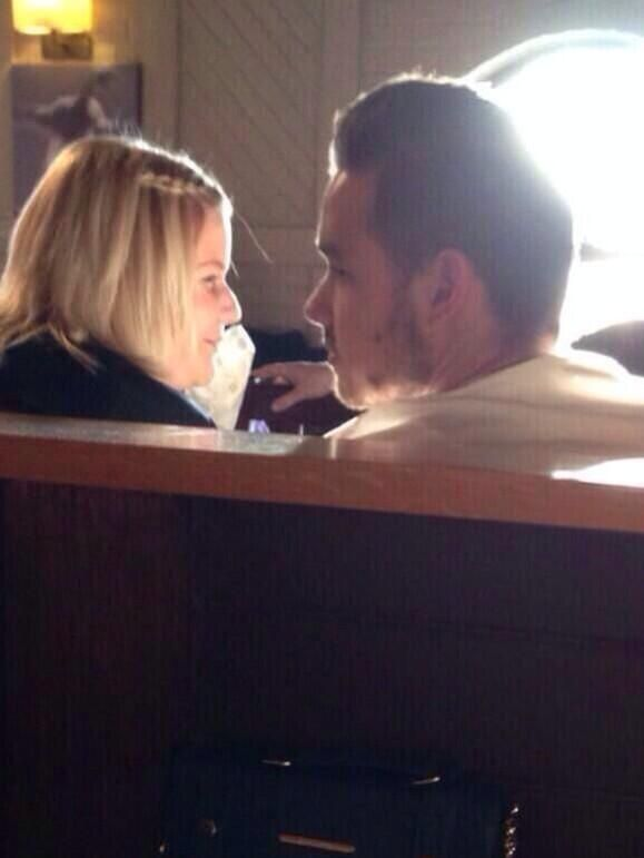 Liam and Ruth Payne (his sister)