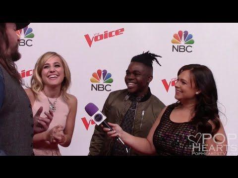 The Voice Season 10 - Team Blake Shelton - Adam Wakefield, Mary Sarah, P...