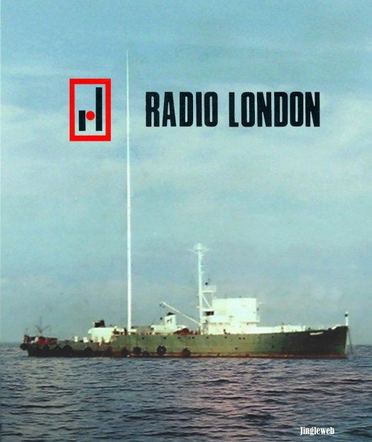 The MV Galaxy, home of Wonderful Radio London in 1964-1967