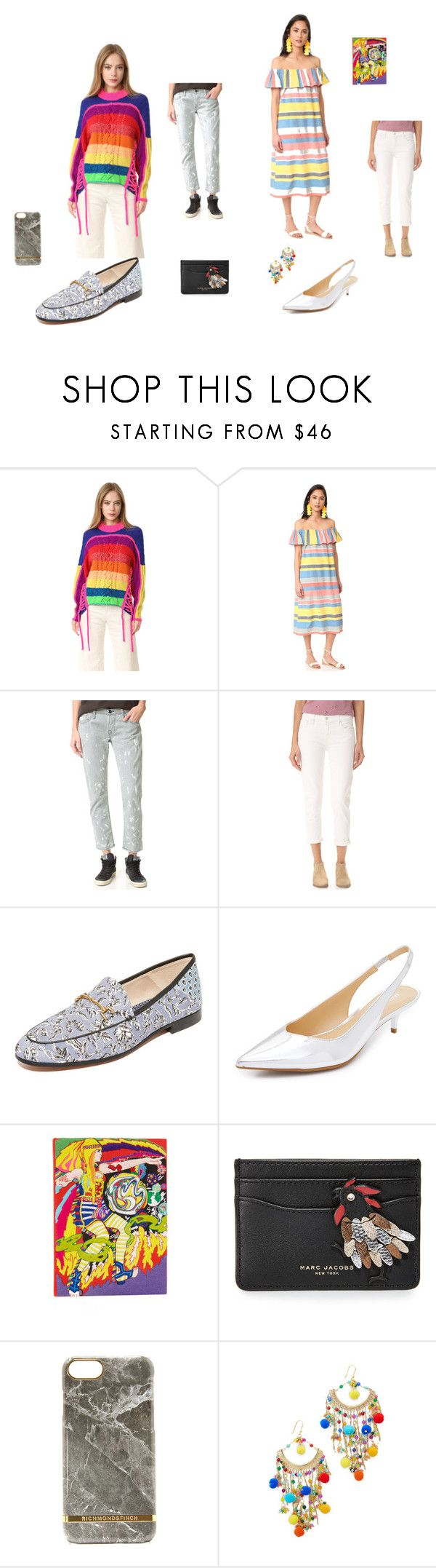 """""""It's all about fashion"""" by jamuna-kaalla ❤ liked on Polyvore featuring Spencer Vladimir, Proud Mary, NSF, Mother, Sam Edelman, MICHAEL Michael Kors, Olympia Le-Tan, Marc Jacobs and Rosantica"""