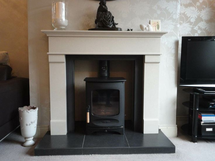 Charnwood C4 Multi Fuel Stove in Matt Black