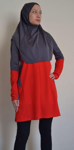 Pioneer 201sports top and Pioneer 702 sports hijab, friniggi Sportswear 2014