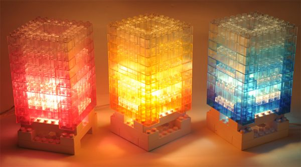INFMETRY:: DIY Block Colorful Light Desk Lamp - Lighting - Home