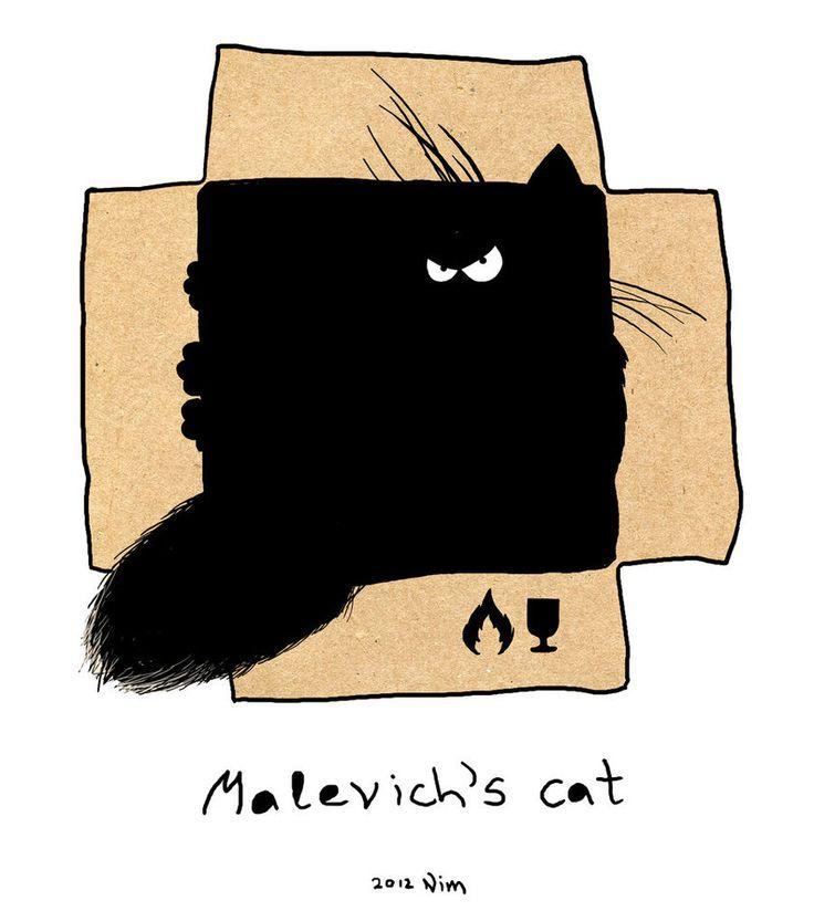 Malevich s cat. by Rheann on DeviantArt