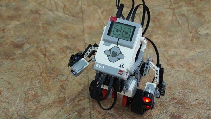 Робот Lego EV3 и семафор
