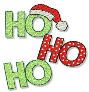 Embroidery | Free Machine Embroidery Designs | Bunnycup Embroidery | Christmas Sentiments