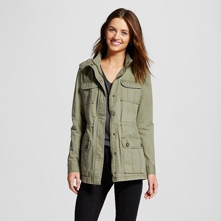 Women's Utility Jacket Moss XXL - Merona™ : Target