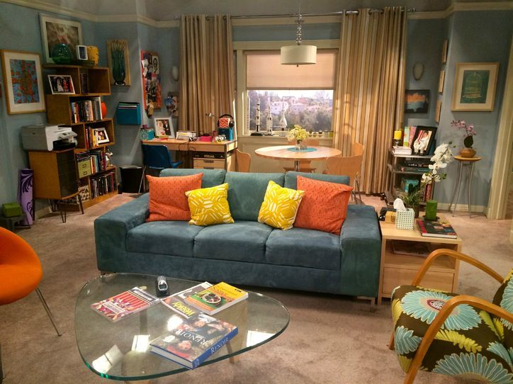 17 best images about penny 39 s apartment on pinterest for Decoracion piso big bang theory