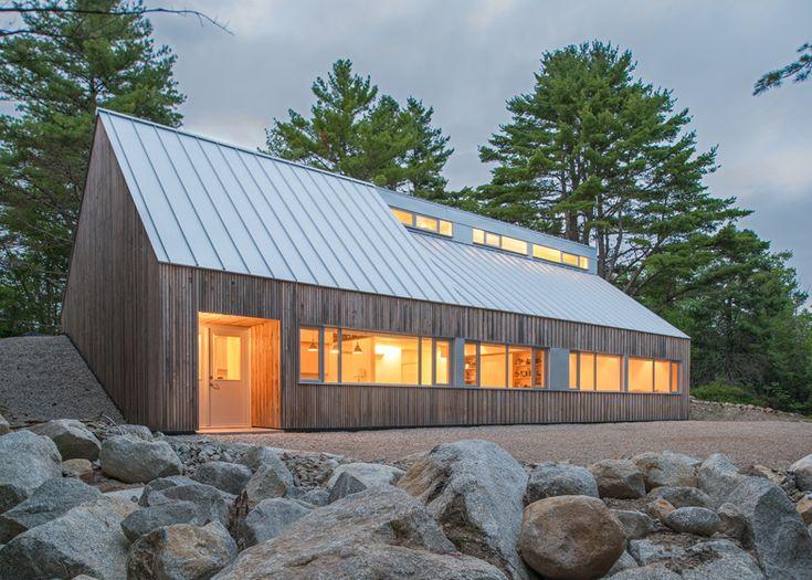Moore Studio artists' house in Canada by Omar Gandhi