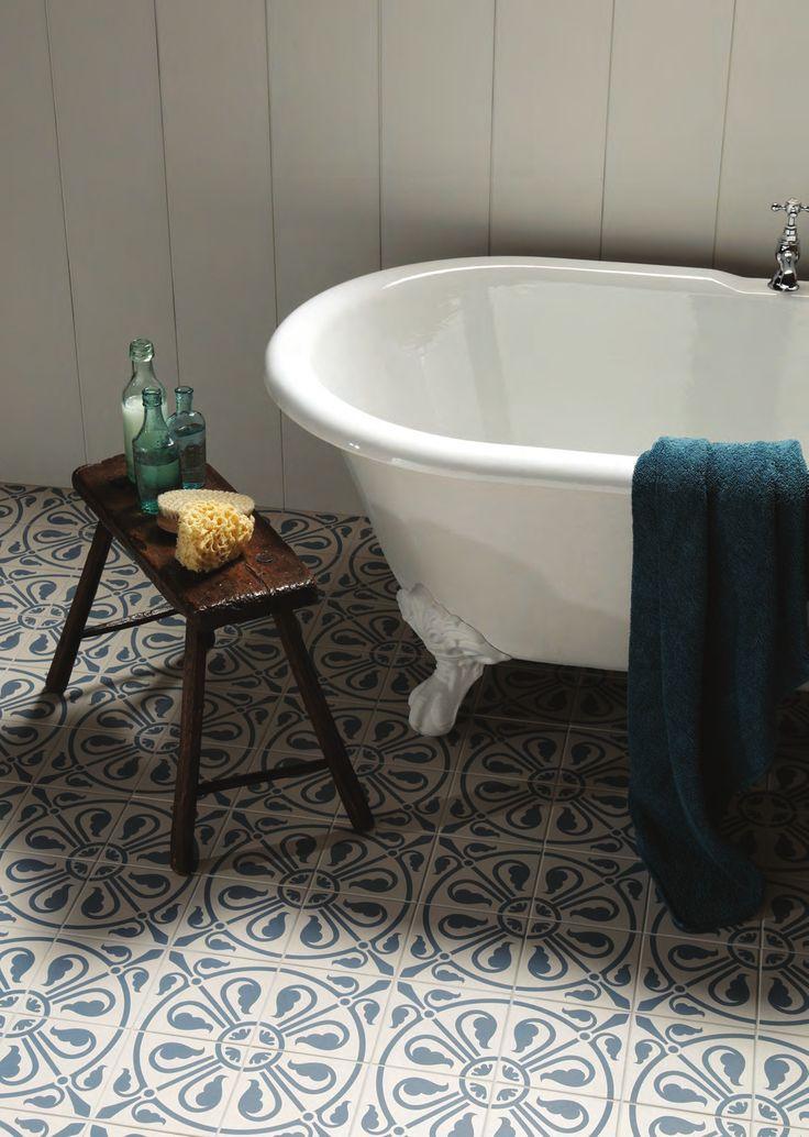 Cool bathroom tiles - change the entire mood of bath