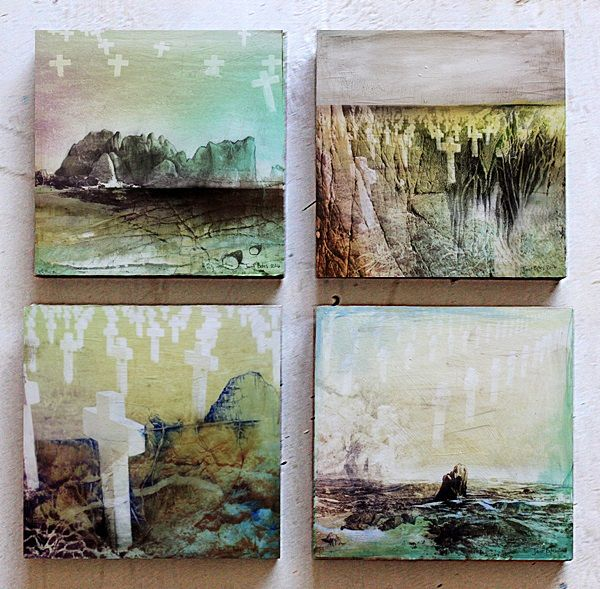 In Memory series by Janet Botes - available to buy from the exhibition