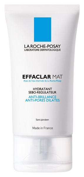 La Roche-Posay Effaclar Mat. Just purchased this. I find my skin gets so oily just a couple of hours after applying foundation so hope this will help with that.