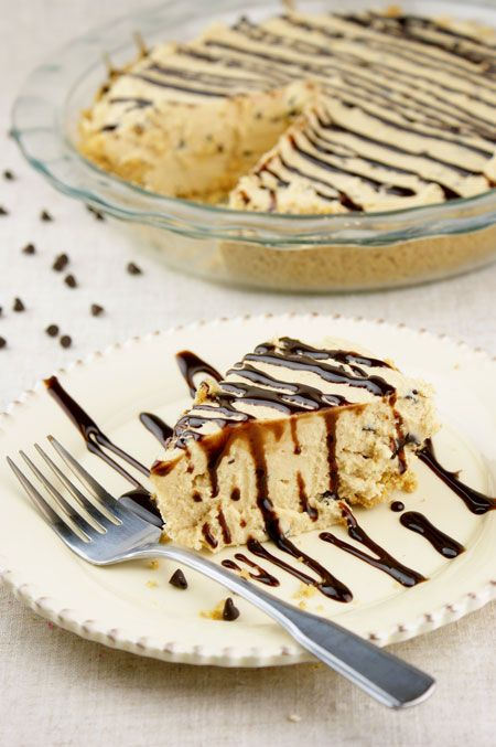 Skinny Peanut Butter Chocolate Chip Cheesecake.  A light recipe that actually still tastes amazing. i want this so bad yummu