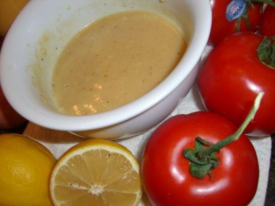 recipe: best lemon vinaigrette dressing [38]