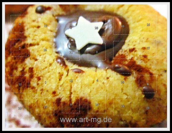 """Adventskalender """"Husarenstern"""" von Art-MG auf DaWanda.com"""