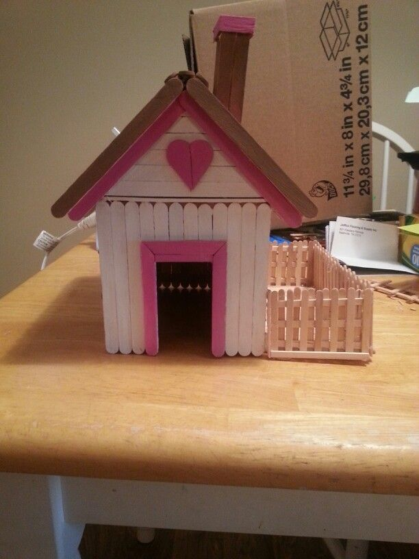 67 Best Popsicle Sticks Furniture Barbie Images On Pinterest