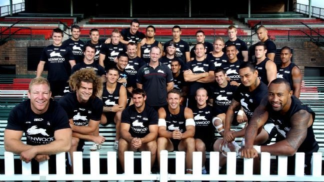 Time lapse of South Sydney Rabbitohs going for the casual team photo which I really like.