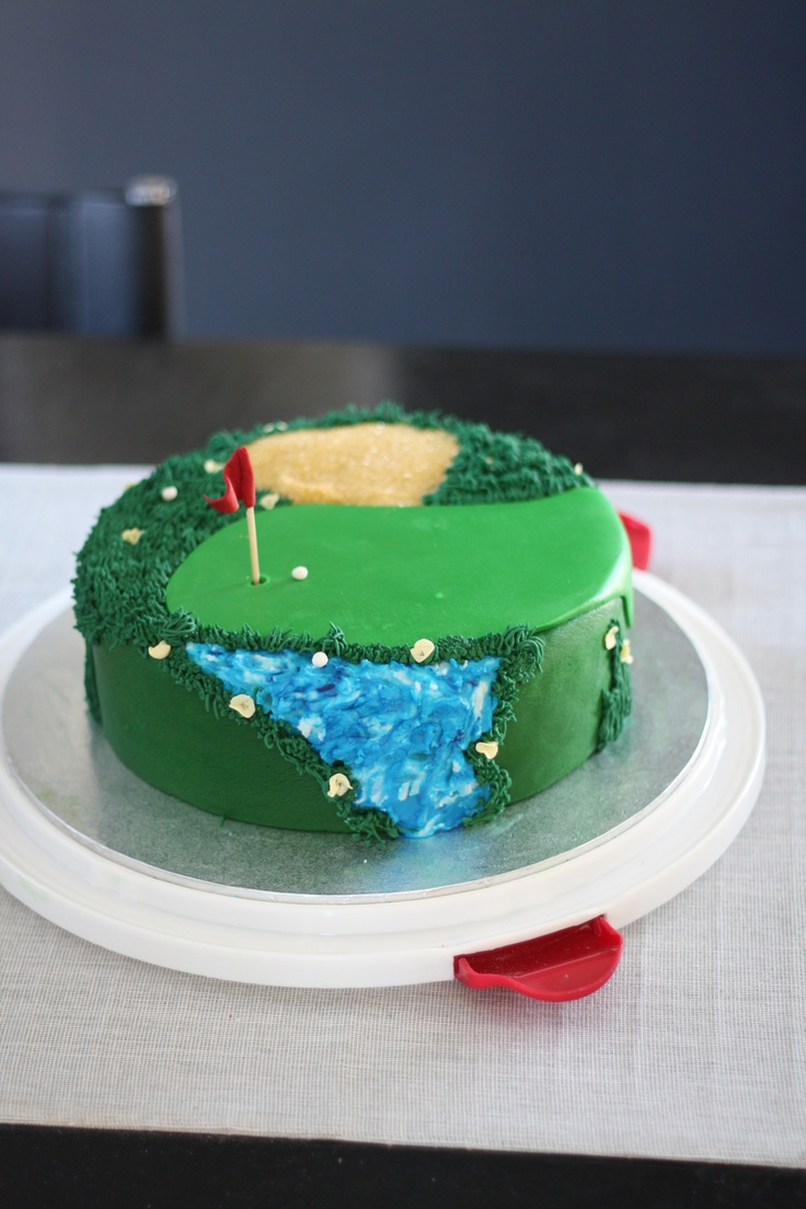 Cake Decorating Ideas Golf Theme : 230 best images about Golf Cakes on Pinterest Golf ...