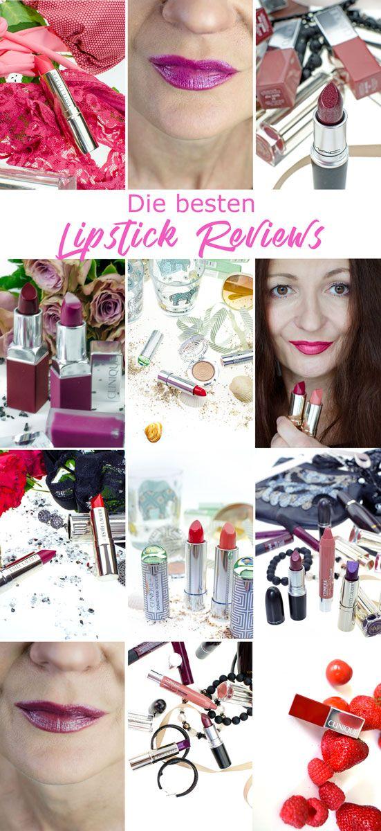 Lipstick Love ! Hier findest du die besten Lipsticke-Reviews! Ob Lippenstift, Liquid Lipstick, Matte Lip Cream, Sheer Lipstick oder Lip Gloss, Nude, Gothic, Classic Vamp Red oder Barbie Pink. Was ist dein Liebling unter den Lippenstiften?