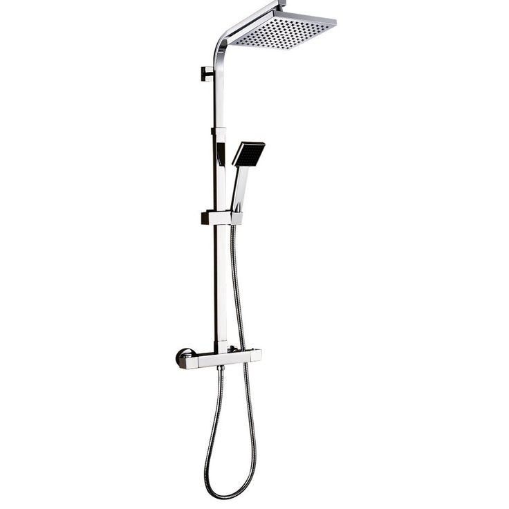 rovate bathroom thermostatic shower system wall mounted ain anti scald device rainfall shower combo set with - Fantastisch Bing Steam Shower