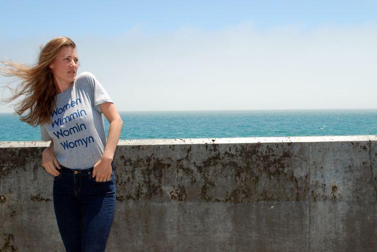 Heather Grey Women T-Shirt by MODERNWOMEN on Etsy https://www.etsy.com/listing/237775445/heather-grey-women-t-shirt