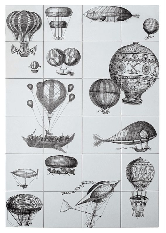Ceramica Bardelli, Fornasetti Wall Tiles
