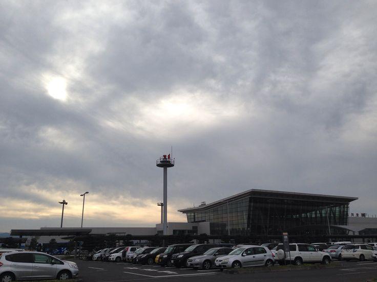 旭川空港にて