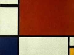 Piet Mondrian: Composition II in Red, Blue, and Yellow