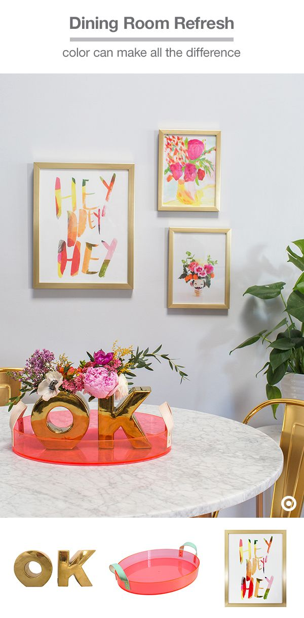 Oh Joy For Target Makes It Easy To Add Color Your Dining Room